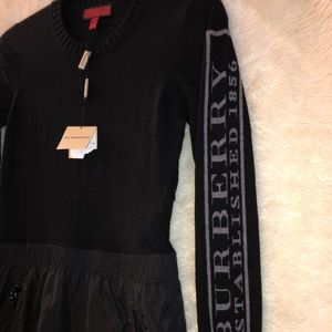 Burberry Sweater skirt vintage